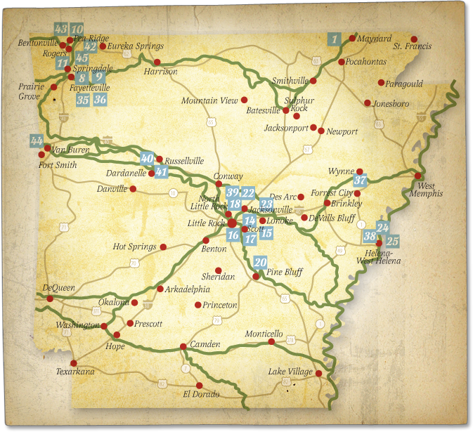 The Trail Of Tears History Arkansas Trail Of Tears - Native american tribes arkansas map